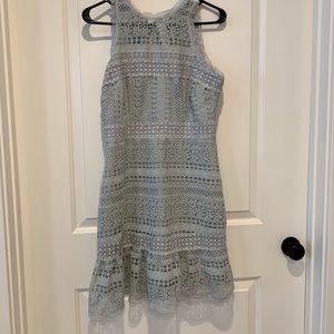 Anthropologie Sleeveless Lace Dress
